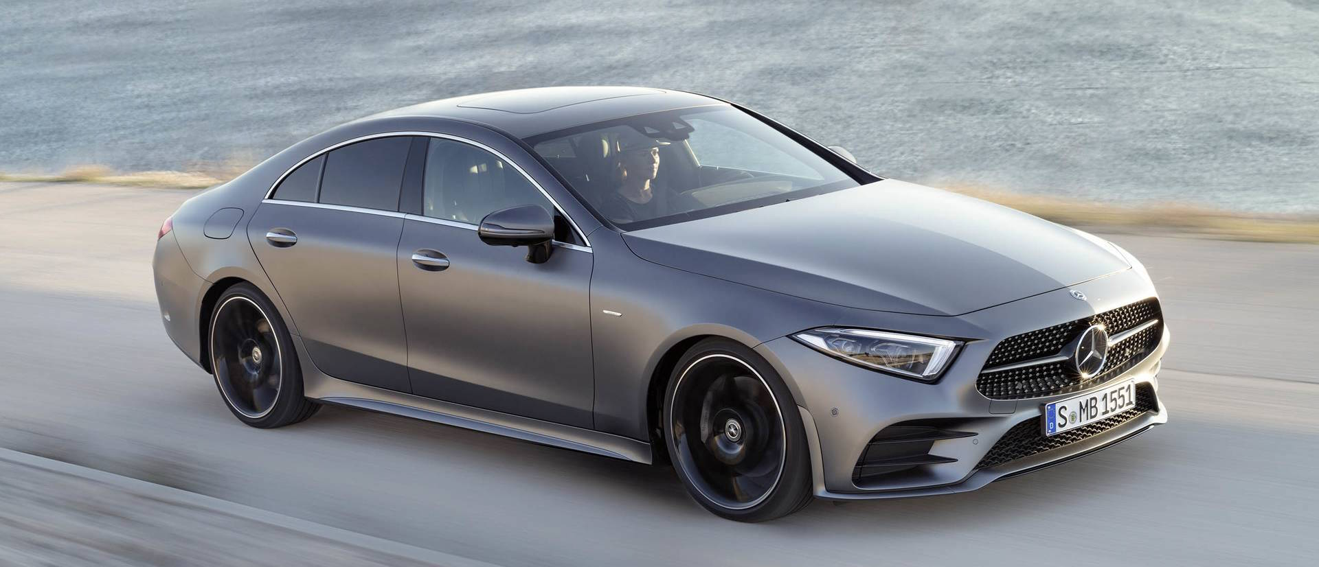 See How The 2019 Mercedes-Benz Cls Looks On A Real Road