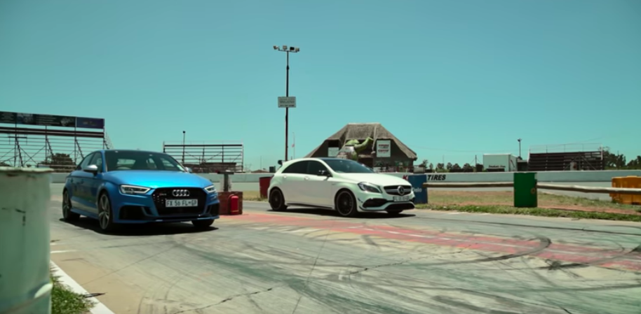 How Important Is An Extra Cylinder? Rs3 Drag Races A45