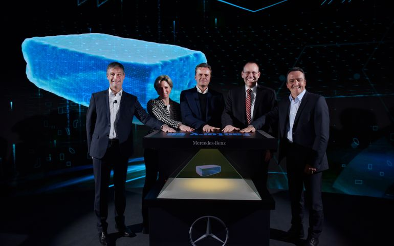 Mercedes-Benz Lays Cornerstone For World's Most Modern Car Production Plant