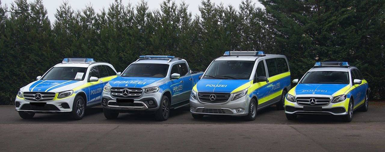 Mercedes Suits Up For Police Duty, X-Class Truck Now In The Fleet