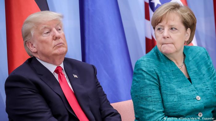 Merkel would back cutting E.U. tariffs on U.S. car imports