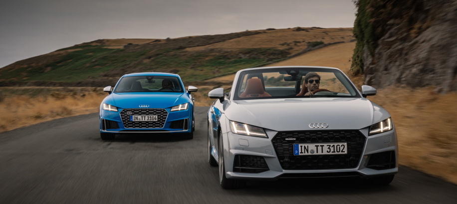 Audi updates TT and TTS, introduces special TT 20 Years edition