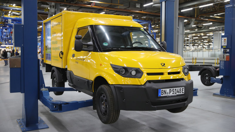 Daimler engineers go undercover to get DHL StreetScooter electric truck