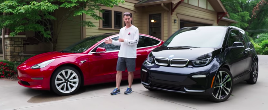 Comparison: Tesla Model 3 vs BMW i3s