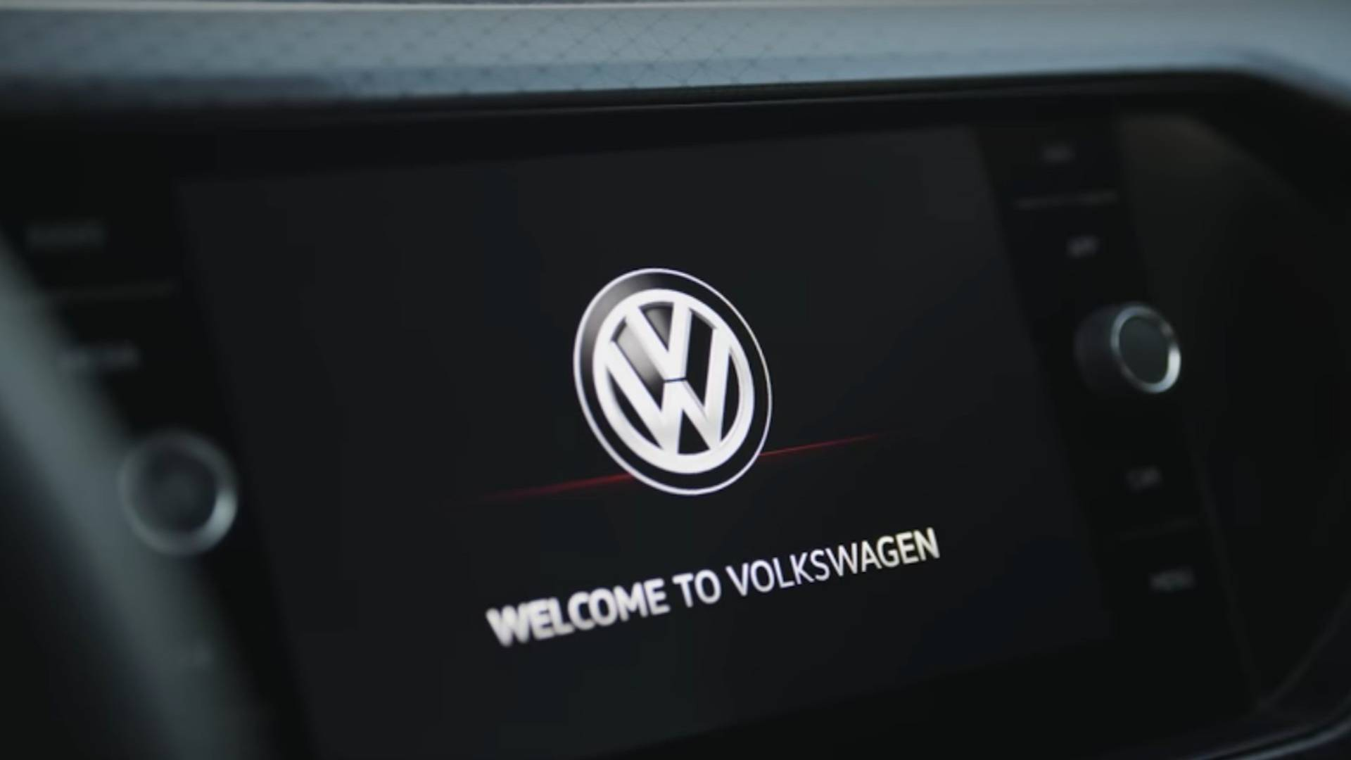 VW T-Cross Baby SUV Interior Partially