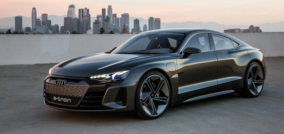 Audi E-Tron GT aims to win customers over on style