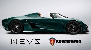 Koenigsegg super cars team with Saab successor NEVS to go electric