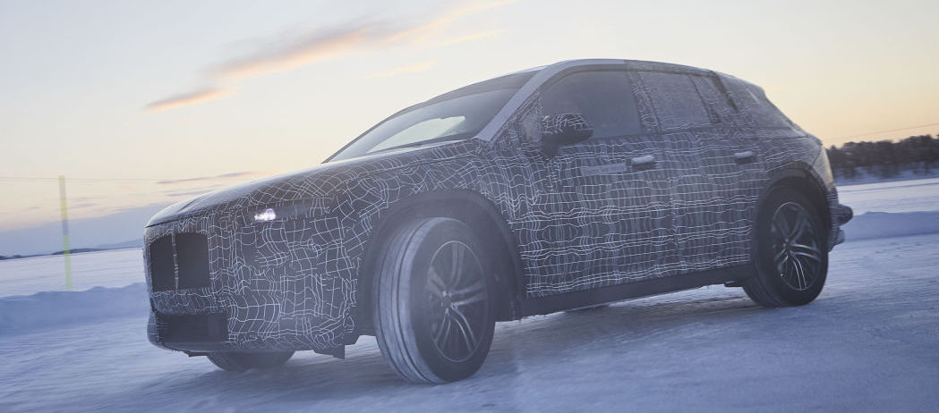 BMW iNEXT in production spec makes an undercover appearance in Sweden