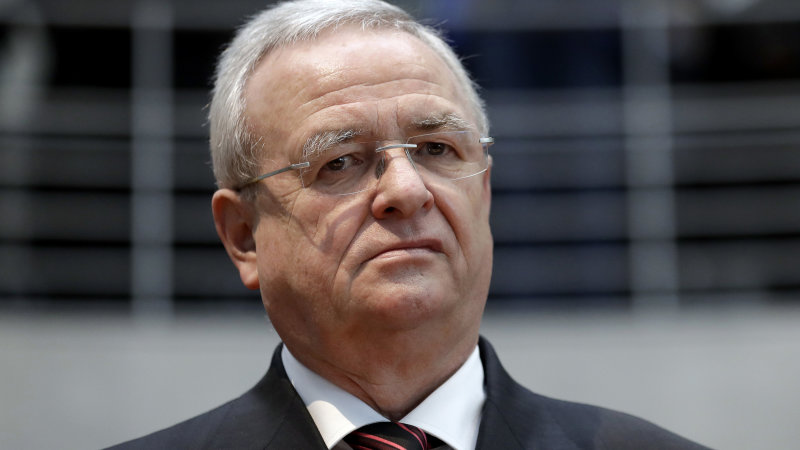 VW former CEO Martin Winterkorn charged with fraud in diesel scandal