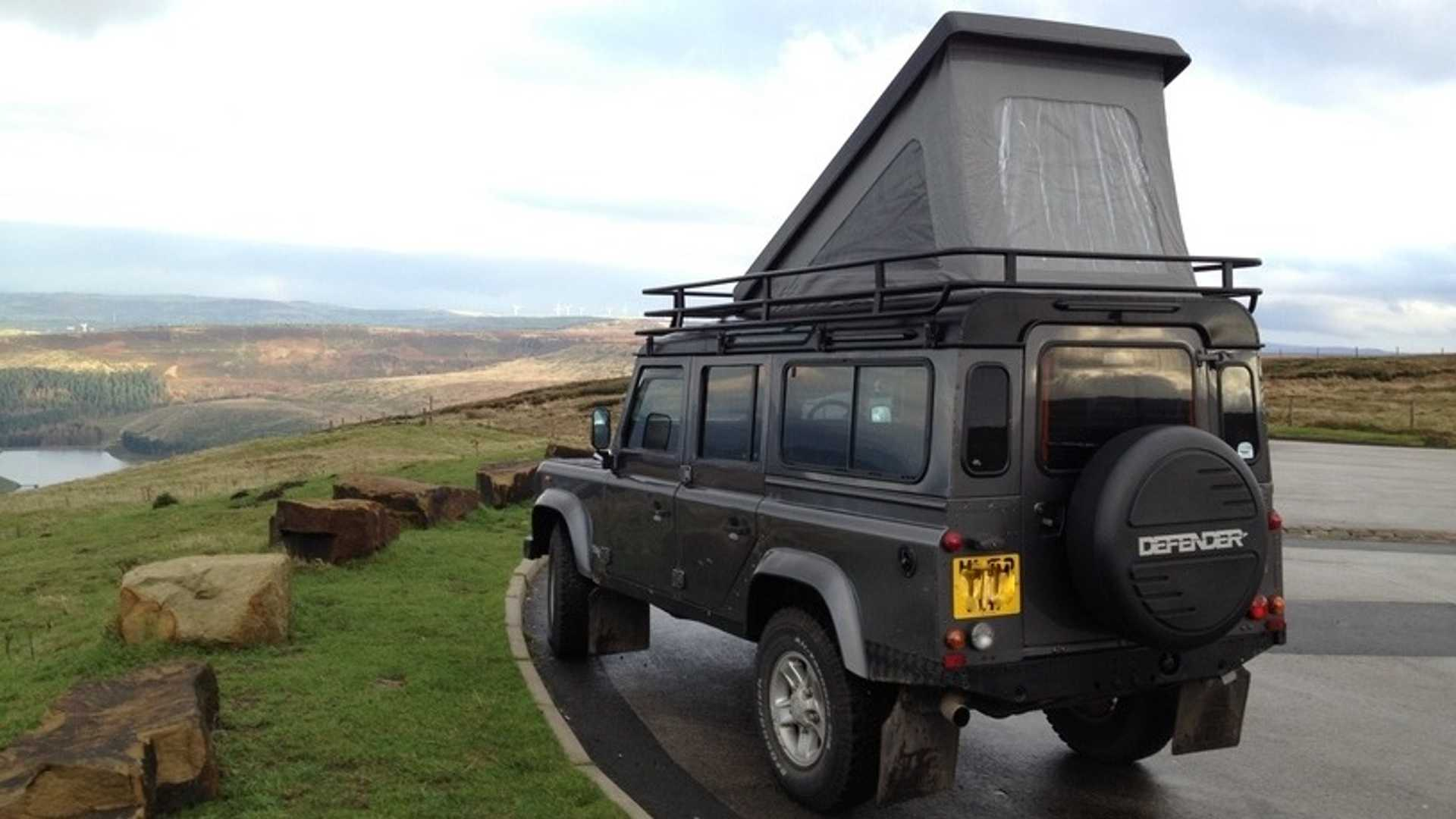 Land Rover Defender Gets Awesome Camper Conversion
