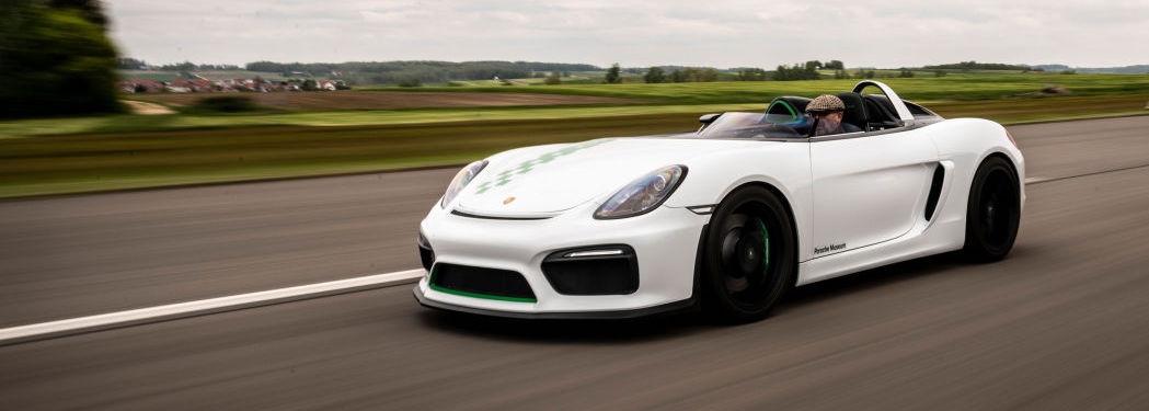 Porsche Bergspyder is the coolest Boxster that never was