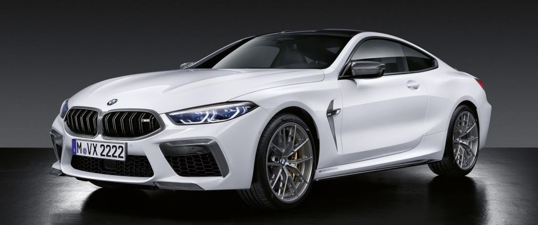 BMW M8 gets even more M with new M Performance Parts
