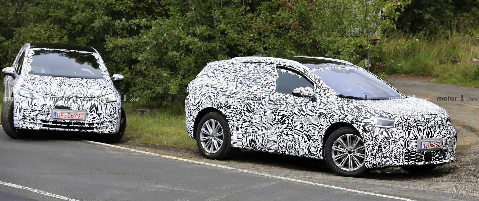 VW ID.3 And I.D. Crozz Spied Showing Minor Development Progress