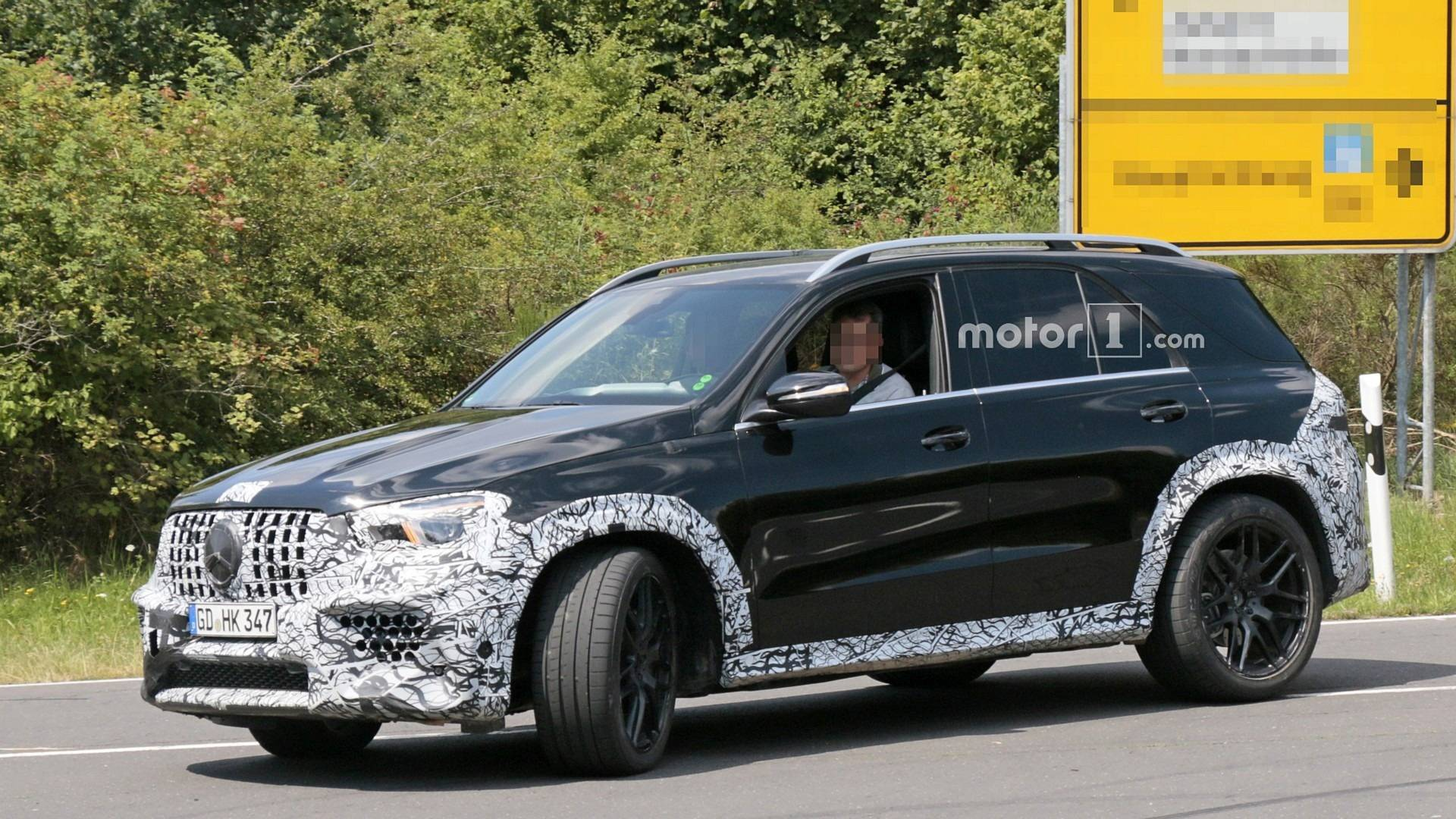 Mercedes-AMG GLE 63 Spied Again At The Nurburgring