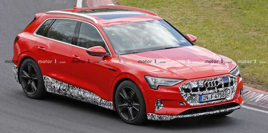 Audi E-Tron S Possibly Spied Testing At The Nurburgring Again