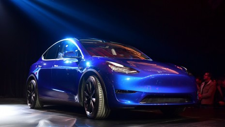 Tesla baut E-SUV Model Y in Europa