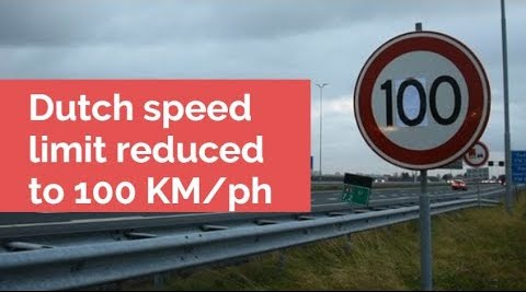 Netherlands cuts national speed limit to reduce nitrogen pollution
