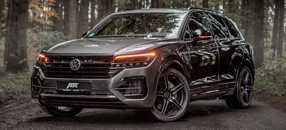 VW Touareg V8 Diesel Tuned By ABT Has Mountain-Moving Torque