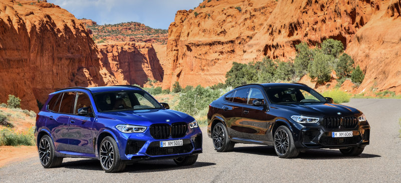BMW issues stop-sale on M5, M8, X5 M and X6 M
