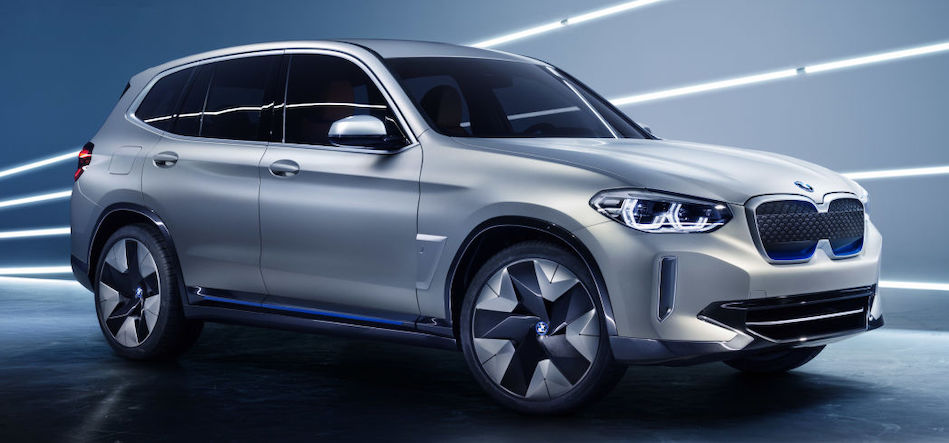 Electric BMW iX3 coming in 2020 with rear-wheel drive, 286 hp