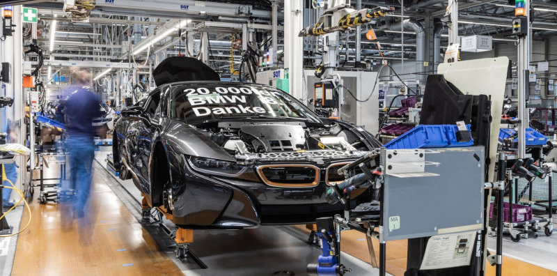 BMW i8 production notches 20,000 units, but the end is nigh