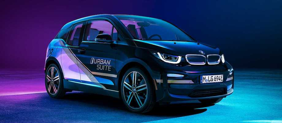 BMW i3 Urban Suite Concept Is A Small Mobile 'Boutique' Hotel Room