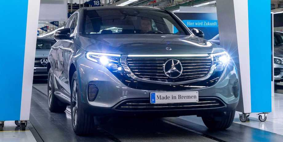 Mercedes-Benz EQC Sales In Germany Have Yet To Pass 100 Units