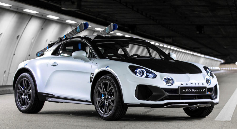 Alpine unveils rally-inspired A110 SportsX concept