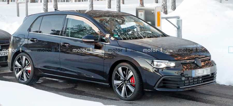 2021 VW Golf GTI TCR Makes Spy Photo Debut, Could Have 296 HP