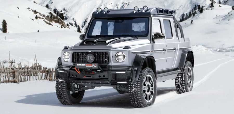 Brabus 800 Adventure XLP Is Rugged, G-Class-Based Truck Of Your Dreams