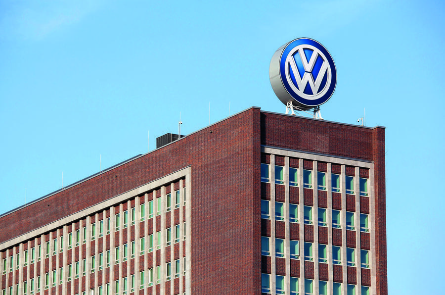 "VW braces for ""very difficult year"" as pandemic shuts factories"