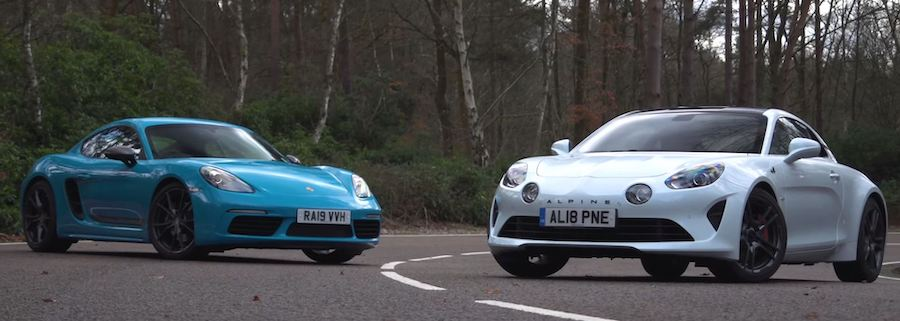 How Does the New Alpine A110S Compare to the Porsche 718 Cayman T?