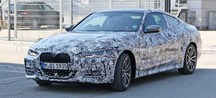 BMW 4 Series Coupe Spied Up Close In New Photos