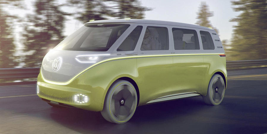 Volkswagen ID Buzz to be new-age Touran