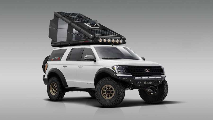 Redtail Overland Debuts Solar-Powered, Hard-Sided Rooftop Camper