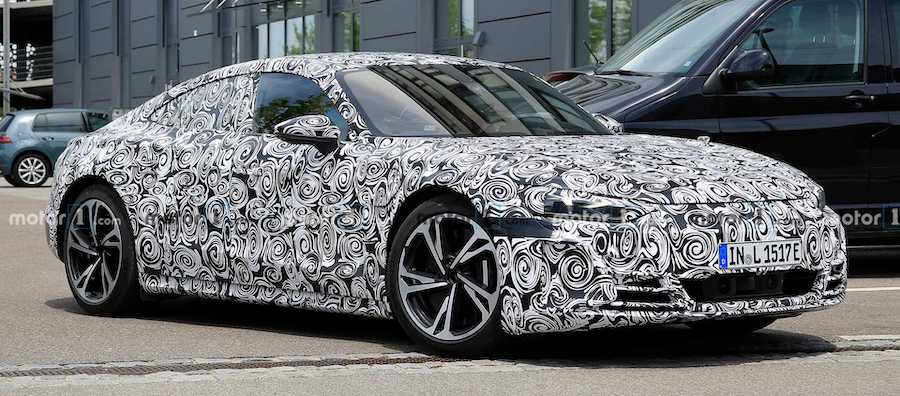 2021 Audi E-Tron GT Spied Looking Production Ready In Sharp Images