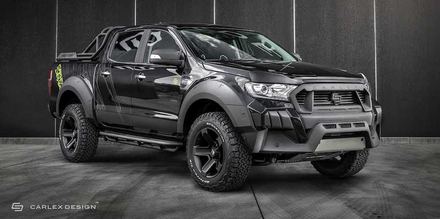 Customized Ford Ranger By Carlex Design Looks Ready To Go Off-Road