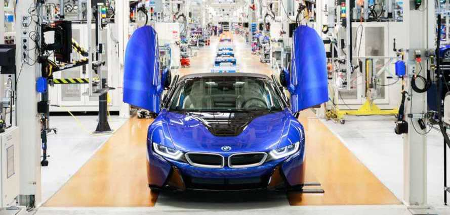 BMW i8 Production Comes To An End, See The Final Car