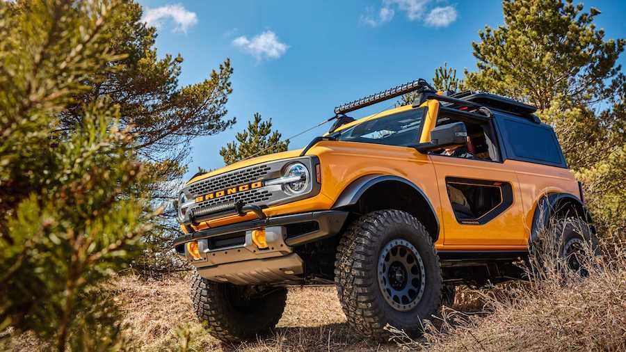 New Ford Bronco: revived Jeep Wrangler rival revealed