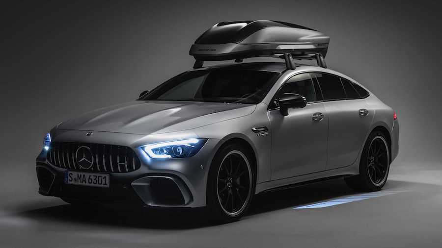 Mercedes-AMG Offers Roof Top Carrier Complete With Fins And Diffusers