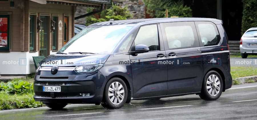 VW Transporter T7 Spied Attacking The Nurburgring In Anger