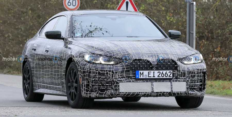 2022 BMW 4 Series Gran Coupe Spied Looking Production-Ready, i4 Teased