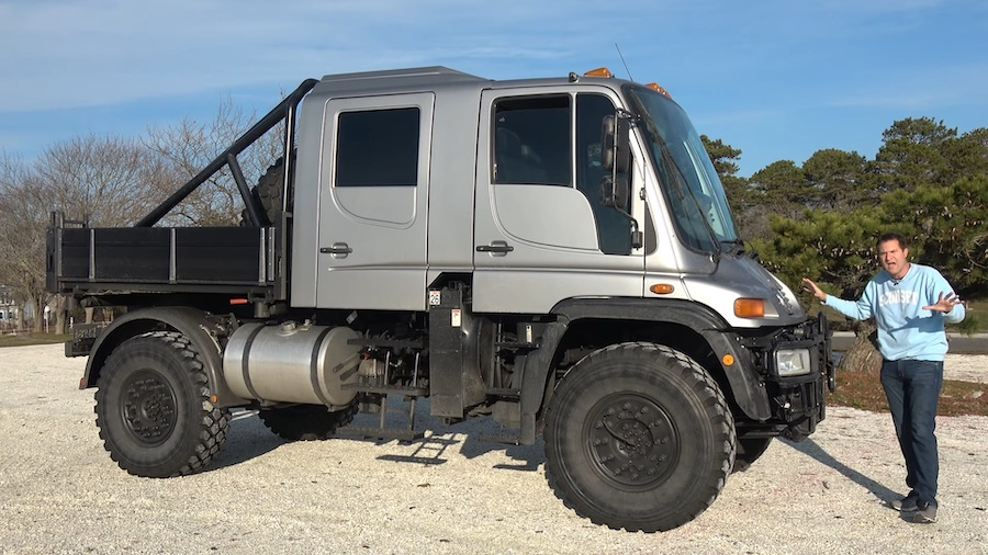 Doug DeMuro Reviews 2004 Mercedes-Benz Unimog U500 Crew Cab Conversion