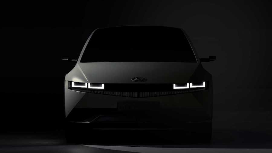 Hyundai Teases Upcoming 2022 Ioniq 5 EV With Three Images