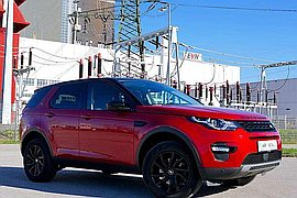 2016' Land Rover Discovery Sport