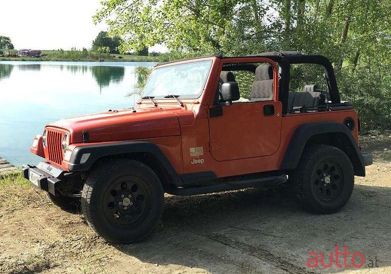 2005 Jeep Wrangler in Neusiedl am See, Österreich